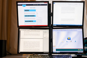 Why multiple screens can help you translate faster