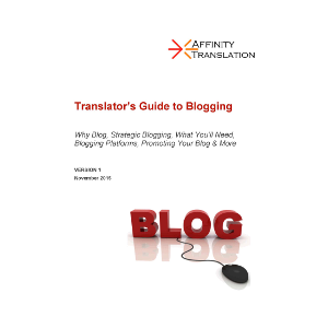 Translator's Guide to Blogging