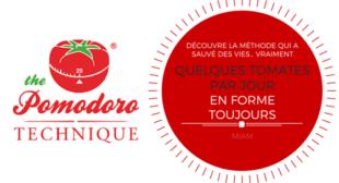 Technique Pomodoro : quelques tomates par jour, en forme toujours